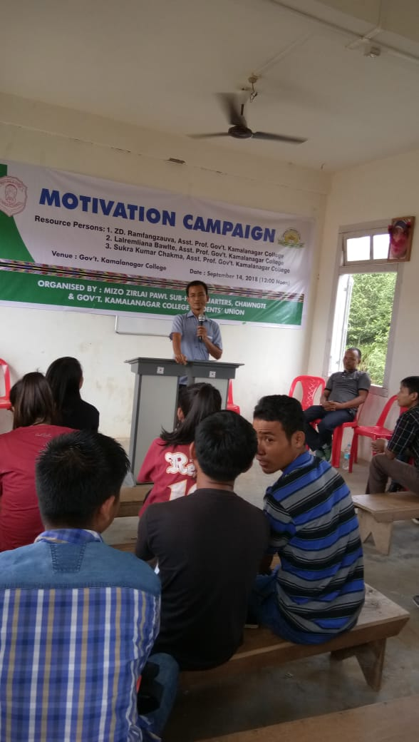 Mr Lalremliana on Student Motivation